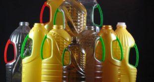 بطری پلاستیکی روغن