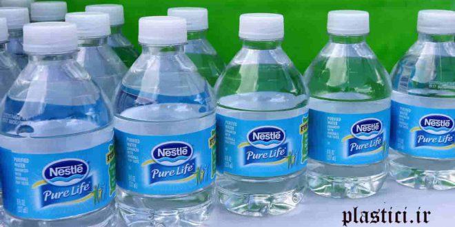 تولید بطری پلاستیکی آب