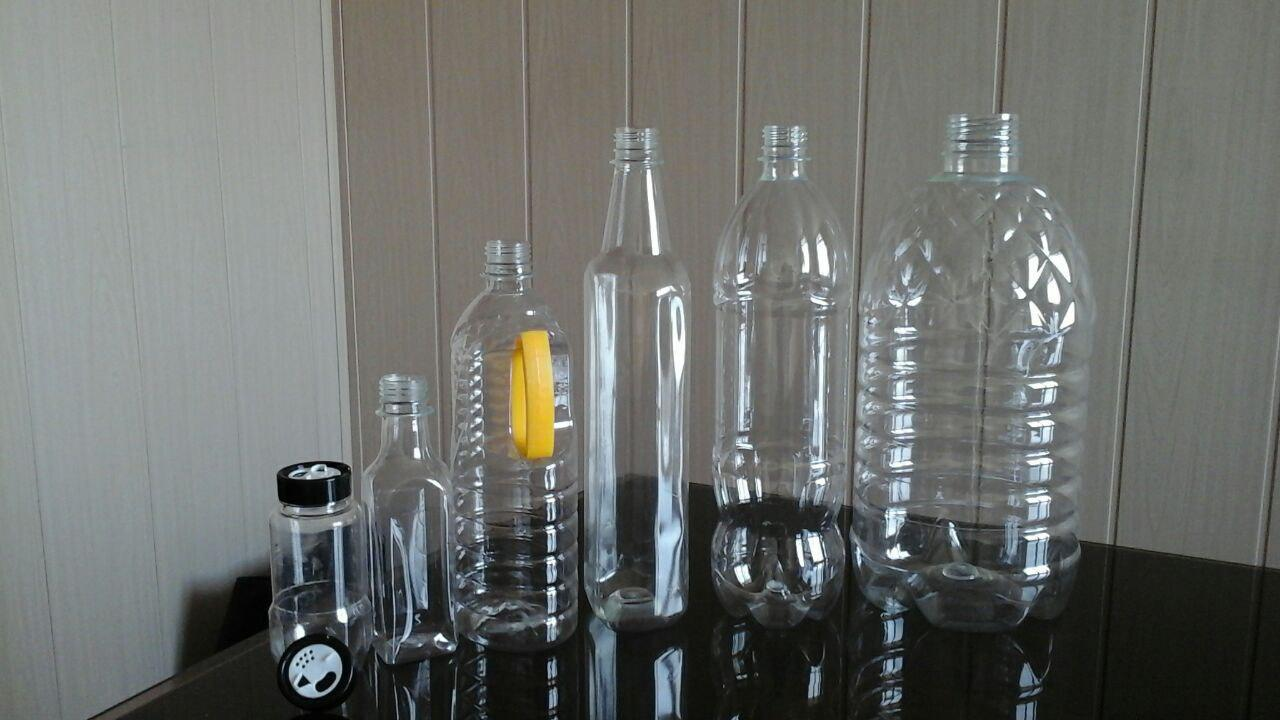 فروش بطری پلاستیکی شفاف
